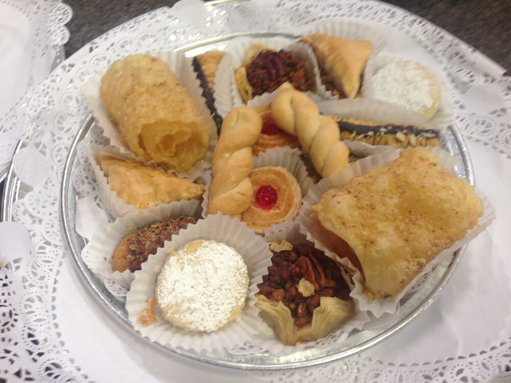 Greek pastries at the festival
